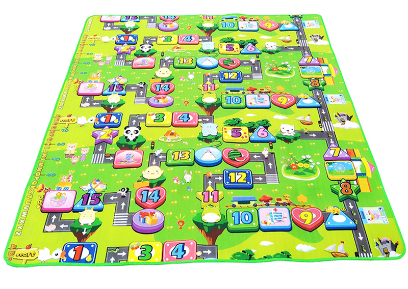 0.5cm Double Side Baby Play Mat Eva Foam Developing Mat for Children Carpet Kids Toys Gym Game Rug Crawling Gym Playmat Gift 20