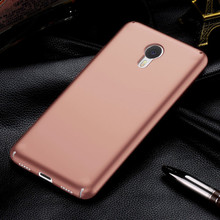 "100% Original Brand New Cover For Meizu M3 Note 5.5"" hard pc case meizu m3 note back cover New Generation Matte Case"