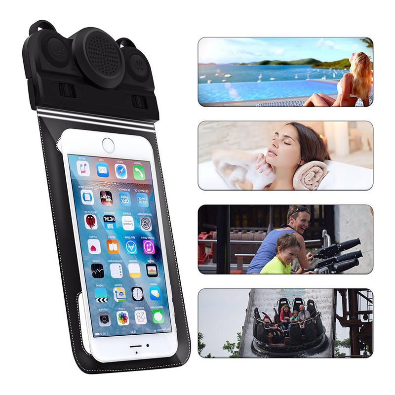 Super Waterproof Protection Case IP68 Take Underwater Photos and Video Triple Protect Fit IP 68 all Phones Below 6 inches (1)