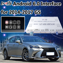 Mouse Control Android Navigation Interface Two-in-one Unit for New Lexus GS supprot Mobilephone Miracast ,Google Play(China)