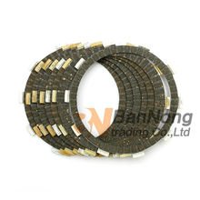 7 pcs Motorcycle Clutch Friction Plate For HONDA CB400SS 02-08 XR400 XR400M XR400SM SHADOW VT600C VT600CD VT600CD2 XL600V CB650F