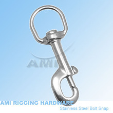 21*92 Swivel Bolt Snap, stainless steel 316, AISI 316, marine hardware, boat hardware, rigging hardware, yacht hardware, OEM(China)