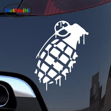 HotMeiNi Military Lovers Hand Grenade Dripping JDM Lowered Dope Outdoor Car Stickers for Truck SUV Window Vinyl Decal 10 Colors(China)