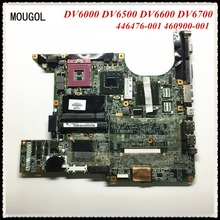 MOUGOL 446476-001 460900-001 For HP DV6000 DV6500 DV6600 DV6700 Laptop motherboard mainboard 100% Tested Free Shipping(China)