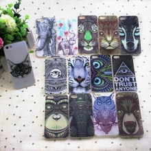 phone Case for Apple iPhone 5 5S 5se 5G soft tpu thin Cell Phone Protective Animal print phone back Cover