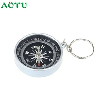 Keychain Hot Sell  Outdoor Camping Plastic Compass Hiking Hiker Navigation Fish SunDay  Levert Dropship Nov17