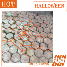 Poseable Furry Giant  Color Spider Webs Halloween Decorations Halloween Props Haunted House Halloween Party Yard halloween props