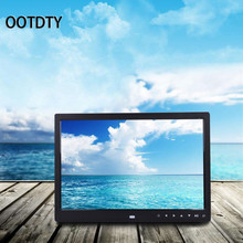 OOTDTY 1 PC 13'' HD LED Digital Photo Frame Picture Album Clock Calendar MP3/4 Movie Player