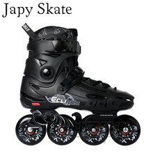 Japy Skate Flying Eagle F5s Inline Skates &8 Hyper+G Wheels Falcon Adult Roller Skating Shoes Slalom Free Skating SEBA Patines(China)