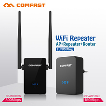 COMFAST 150~300Mbps Wireless Repeater WIFI Router 2.4GHz Access Point Signal Extender Wireless N Wi-fi Amplifier EU US homeplug(China)