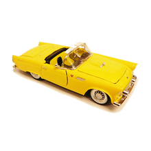 1:32 1955 Thunder-bird convertible Classic vintage car model Alloy collection model