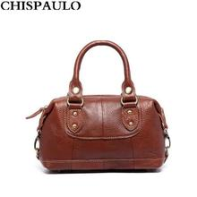 New Arrival Casual Genuine Leather Ladies Handbags High Quality Nature Skin Cowhide Crossbody Bags Designer Luxury Brand Bags(China)