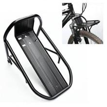 Black New Cycling Carrier pannier racks Bike Bicycle Aluminum Alloy Front Rack Panniers Bag Bracket