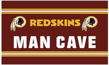 Washington Redskins Man Cave Custom Sport Products Flags Banners 100D Polyester Flag White Sleeve Metal Grommets 90*150 CM(China)