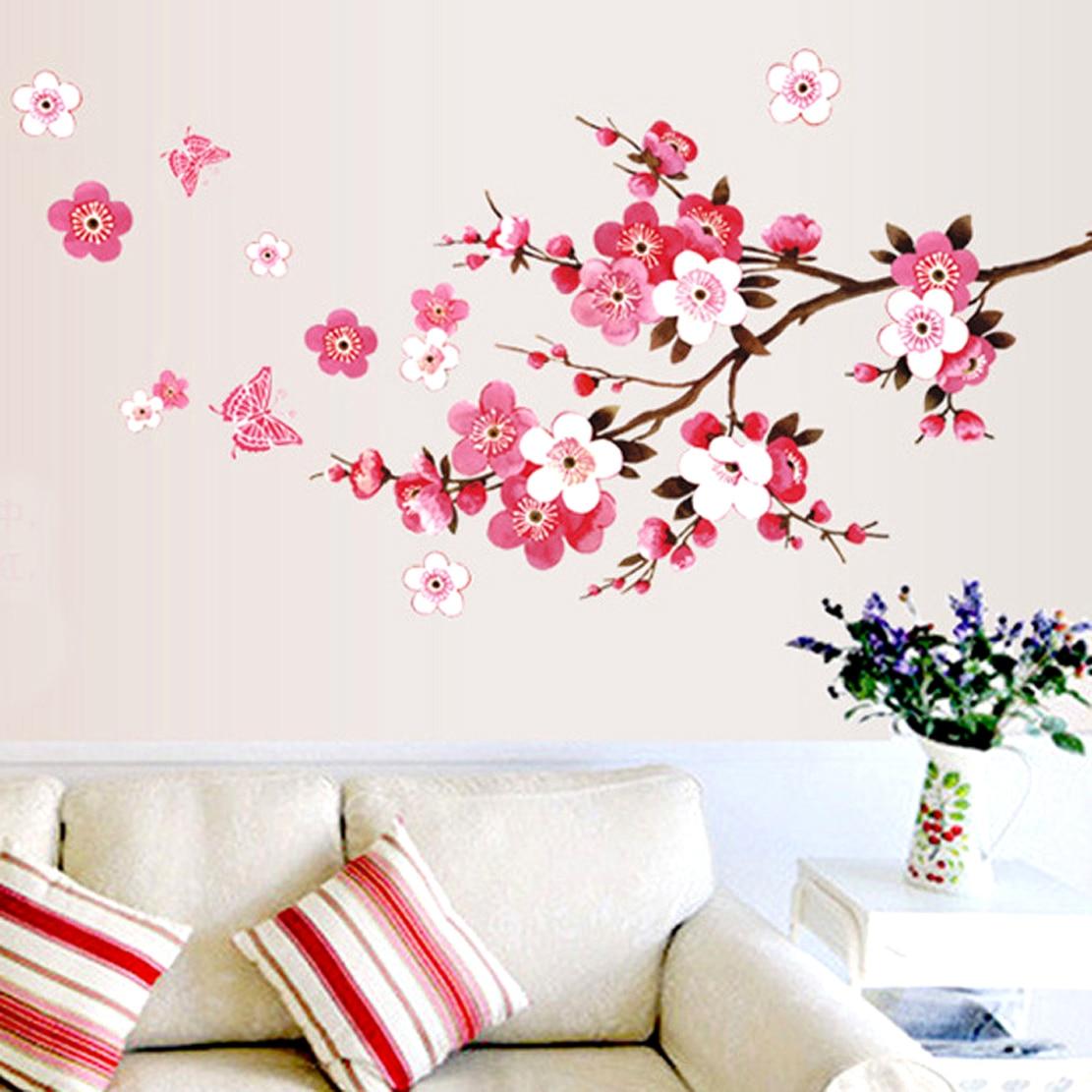 Ветка сакуры на стене своими руками