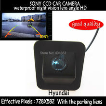 170 degree sony  HD CCD Rear View Camera backup reverse parking camera night vision waterproof for  Hyundai Elantra Avante 2012