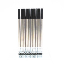 Jinhao high quality 10pcs Black Universal Ink Refill Rollerball Pen New(China)