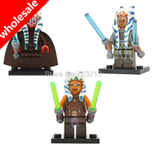 Wholesale Star Wars 20pcs/lot Ahsoka Tano Togruta Bricks Shaak Ti Figure Building Blocks Toys Gift Starwars Set Model PG686(China)