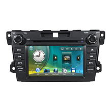 "7"" Car Radio DVD GPS Navigation Central Multimedia for Mazda CX-7 CX 7 SD USB RDS IPOD Analog TV Phonebook Bluetooth Handsfree"