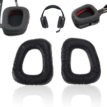 1 Pair Soft Replacement Ear Pads Cushions for Logitech G35 G930 G430 F450 Headphones High Quality(China)