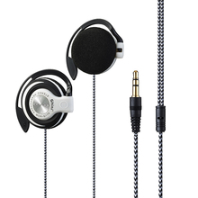 Free Shipping Headphones 3.5mm Headset EarHook Earphone For Mp3 Player Computer Mobile Telephone Earphone Wholesale(China)