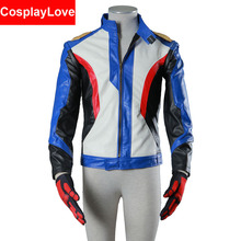 CosplayLove DVA OW Soldier 76 Jacket Coat Cosplay Costumes High Quality Stock Cusotm Made For Halloween Christmas
