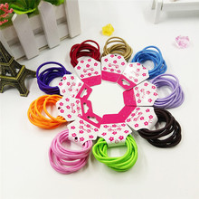 10Pcs Hair Accessories Elastic Holders Rope Girl Women Rubber Bands Tie Gum For Hair accesorios