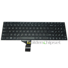 Laptop Keyboard X550 X550C X550D Black US English Ultra Slim Laptop Tablet US Touchpad English Layout Letter Keyboard