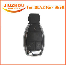 New 3 Buttons Smart Remote Car Key Shell with the Board Plastic and blade for Mercedes-Benz MB (with LOGO)