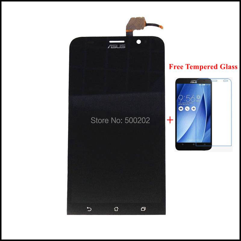 Original New LCD Display + Touch Screen Digitizer Panel Assembly for Asus Zenfone 2 ZE551ML 5.5 + Tempered Glass Free Shipping<br><br>Aliexpress