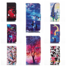 Lovely tree fish Painting Cover Wallet Cell Phoe Protector Case For Samsung J120 J1 2016 phone case(China)