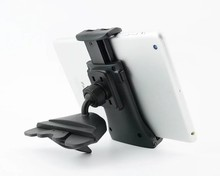 360 Rotating CD Slot Mobile Phone extensible Mount holder car tablet stand for 7 8 9 10 inch tablet pc cellphone