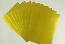A3 inkjet Sandy gold film for dye printing 50 sheets(China)