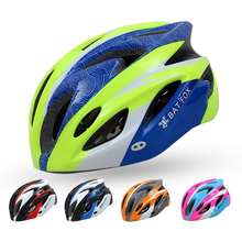 2017 Integrally-molded Mountain Road Bicycle Helmet Visor 220g Mountain MTB Bike Cycling Helmet BMX Helmets kask Casco Ciclismo