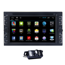CD GPS Stereo USB PC Auto Android 4.4 Car DVD OBD2 WiFi FM Navigation 1080P Radio System Touchscreen Video APP(China)