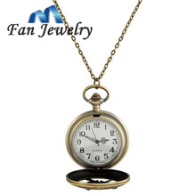 Hunger Game Pocket Watch catching fire Pendant Necklace XL205