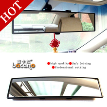BACANO Vision Car Glare Proof Mirror outlook interior car wide angle rearview mirror surface endoscope car-covers Cars mirror(China)