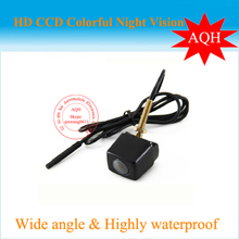 CCD universal Car rear view camera HD night vision car camera for all car such as For solaris/ corolla/ BMW E36/ mazda(China)