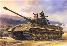 MENG TS-031 1/35 Scale German Heavy Tank Sd.Kfz.182 KING TIGER ( Henschel Turret ) Plastic Model Building Kit(China)