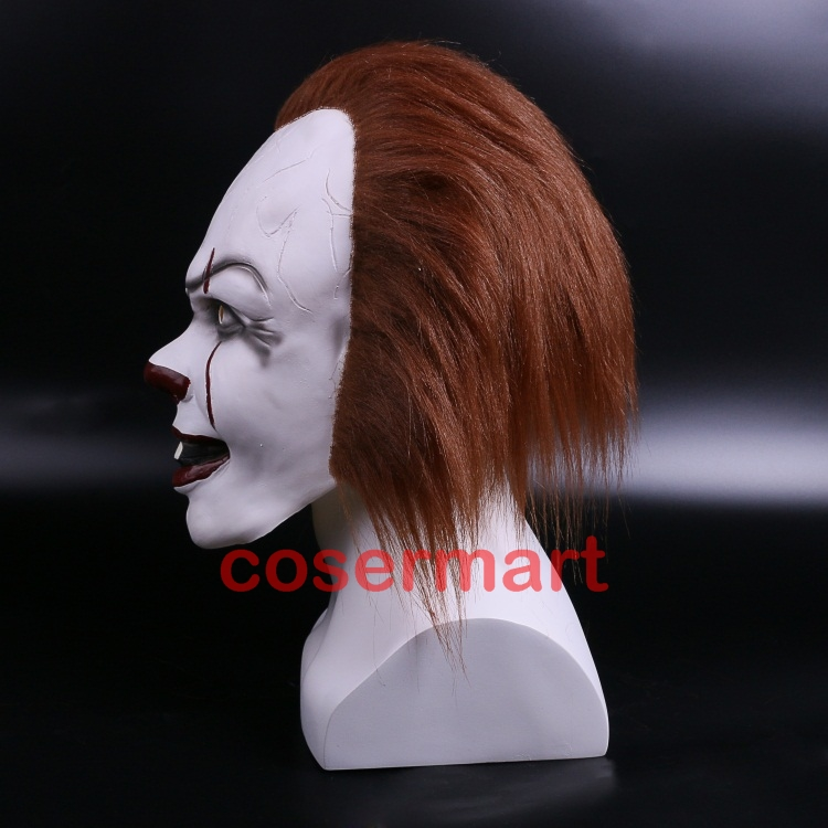 Halloween Pennywise Costume Stephen King IT 2 Scary Clown Man Cosplay Prop Girl Children Toy Trick or treat (5)