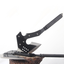 Multifunctional Survival Outdoor Camping Axe Hunting Hatchet Tomahawk Fire Axes Portable Hand Tools Stainless Steel Axe H10(China)