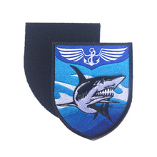 2017 Liaoning Aircraft Carrier Ship Logo J15 Aircraft Flying Shark Armband Patch Chinese Navy Military combat Decorative Patch