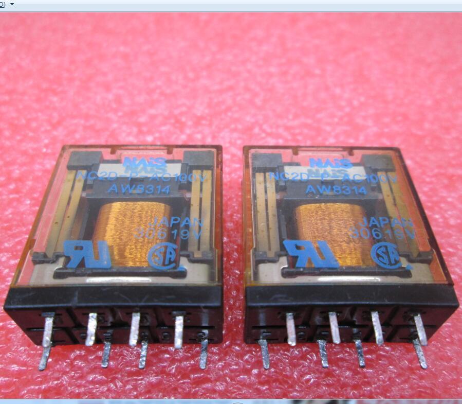 relay NC2D-P-AC100V NC2D-P-100VAC NC2DPAC100V NC2D-AC100V 100VAC AC100V 100V 8pin<br>