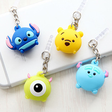 Lovely Cartoon Mikey 3.5 mm Anti Dust Plug Universal Phone Dust Plugs Earphone Headset Jack Plug Phone Accessories Cover Case