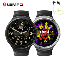 LEMFO LES1 Android 5.1 Smart Watch Phone 1GB+16GB Support SIM Card MP3 GPS WIFI Bluetooth Smartwatch Reloj Inteligente Android