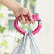 Home One Trip Grips for Shopping Grocery Bag Holder Handle hand folding Foldable bag Carrier Lock Kitchen Tool Gift Baskets(China)