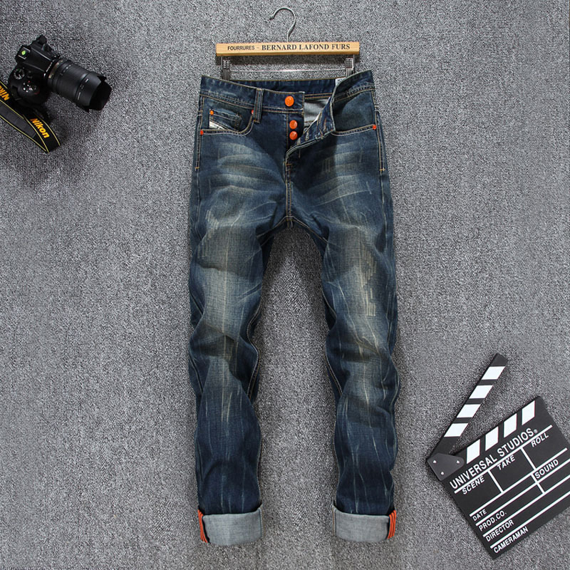 2017 High Quality Famous Brand Upscale Cotton Men Jeans Designer Trouser European and American Casual Style Pant for Male JeansОдежда и ак�е��уары<br><br><br>Aliexpress