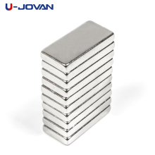 U-JOVAN 10pcs 20 x 10 x 3 mm Super Strong N35 20*10*3mm Block Craft Rare Earth Magnetic Neodymium Cube Magnet