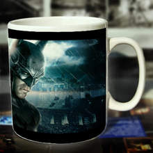 New Batman Ceramic Coffee Mug White Color Or Color Changed Cup Face---Loveful
