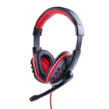 Gaming Game Stereo Headphones Headset Earphone w/ Mic For PC Computer Skype